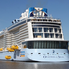 Круизный лайнер Ovation of the Seas